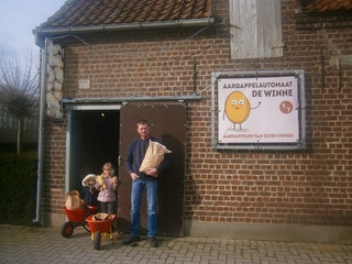 Aardappelautomaat Steven De Winne Hofstade