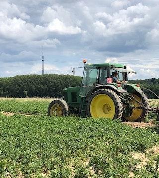 Veld tractor