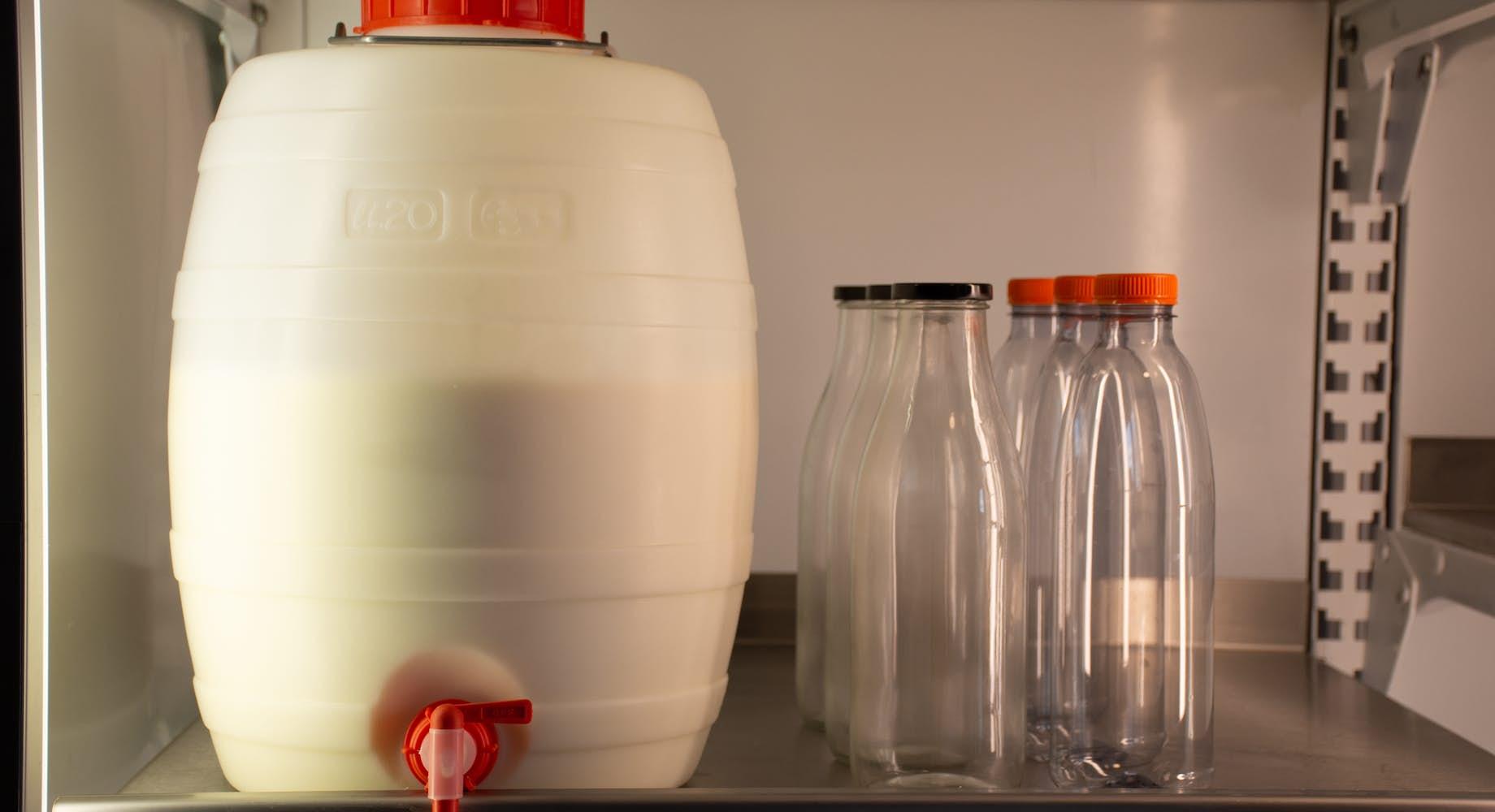 Rauwe melk (onverpakt)