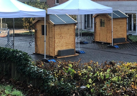 Drive-in testcentrum Tervuren gesloten op Pinkstermaandag