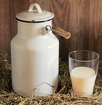 Verse rauwe melk