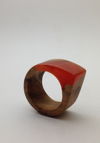 Teak Wood Red 3