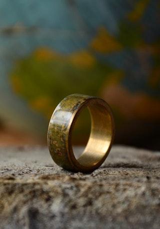 Brass patina 3