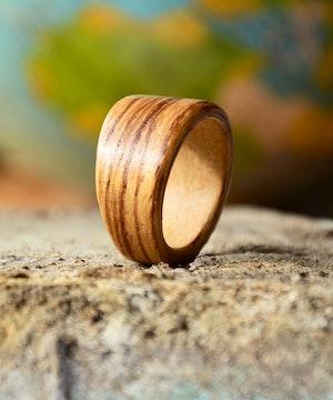 Zebrano wood 1